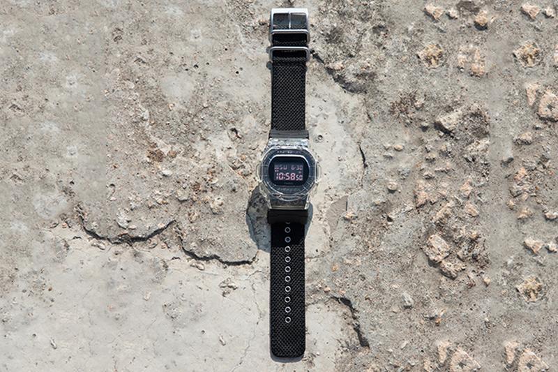 CLOT x G-SHOCK 最新聯乘 DW-5750 腕錶台灣發售情報                                                                                                                                                                                        透明錶殼為最大亮點。                                                                                                                                                                                                                          編輯 : Leo Huang