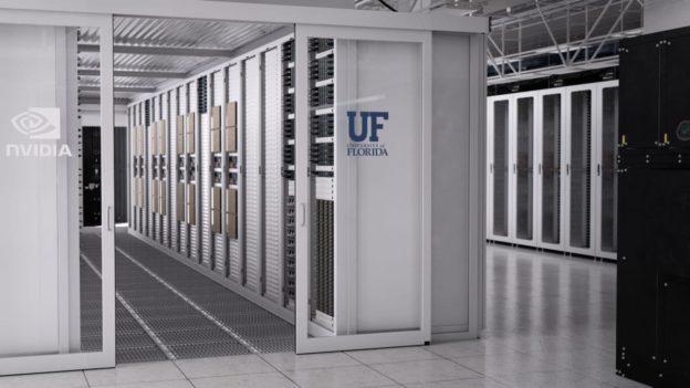 NVIDIA 與佛羅里達大學合作開發 700petaflops AI 超級電腦