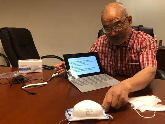 蔡秉燚忙碌的退休人生!N95 口罩之父,疫情下重出江湖